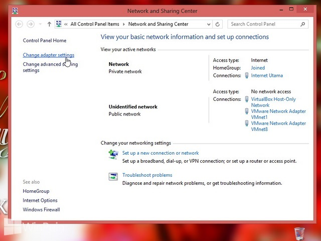 Cara Mengganti Prioritas Network Connection di Windows