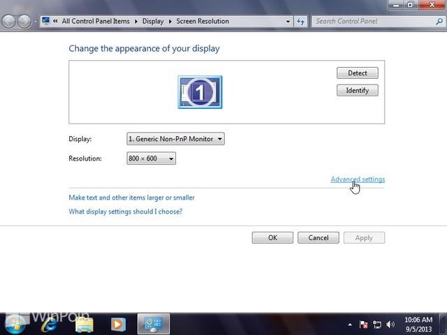 Cara Mengatur True Color Monitor pada Windows 7