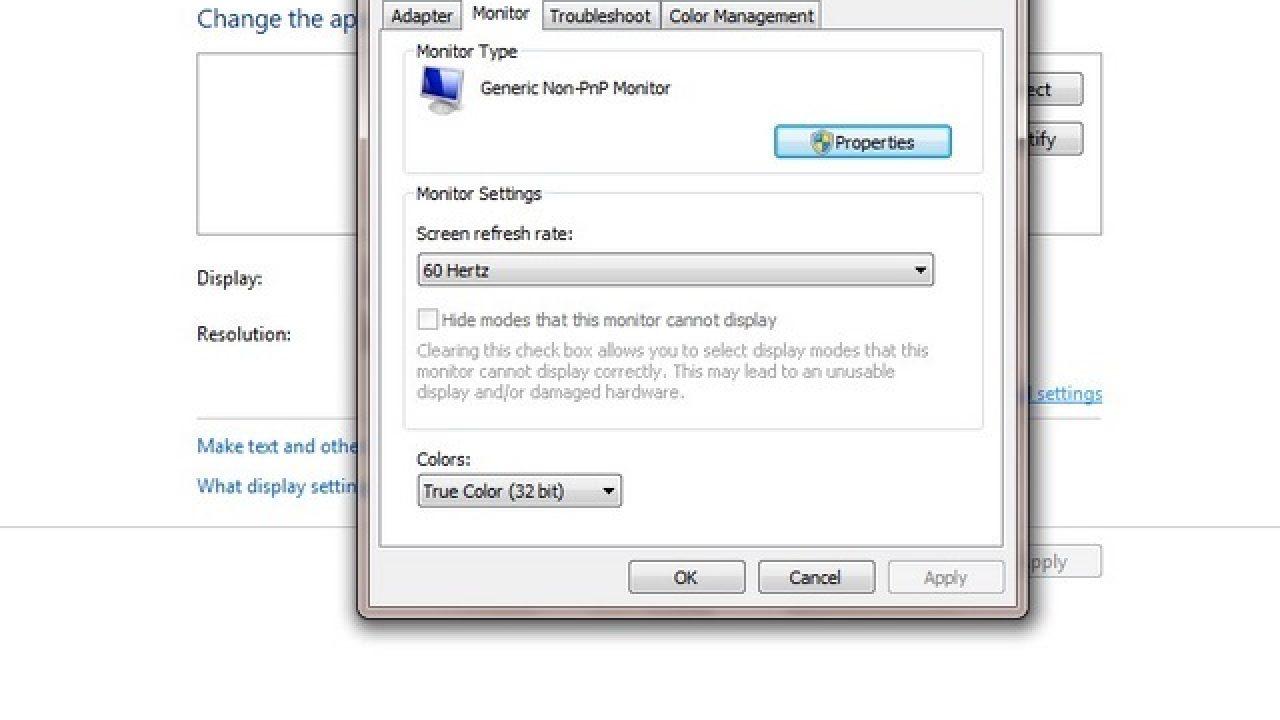 Cara Mengatur True Color Monitor Pada Windows 7 Winpoin