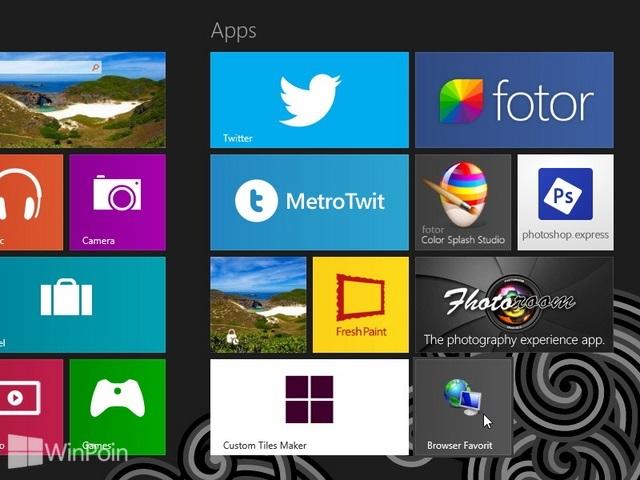 Cara Mengganti Icon dan Nama Tile di Windows 8