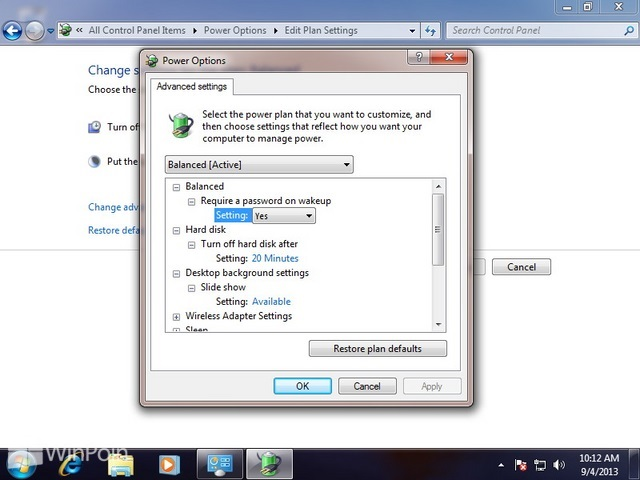 Cara Mengganti Pengaturan Power Plan di Windows 7