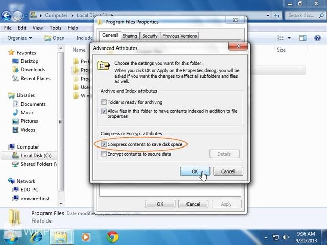 Cara Compress dan Decompress dengan NTFS Compression di Windows 7 & 8