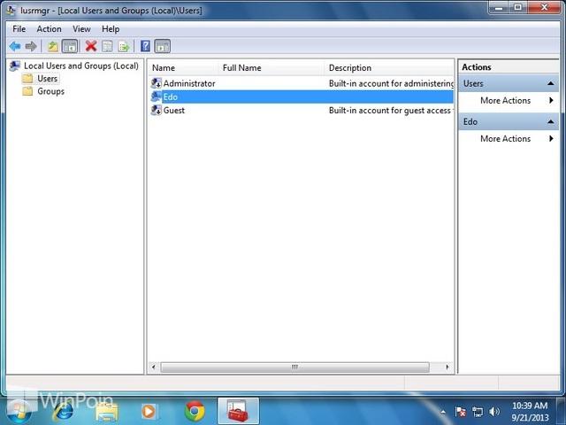 Cara Mengaktifkan atau Mematikan Password Expiration Untuk User di Windows
