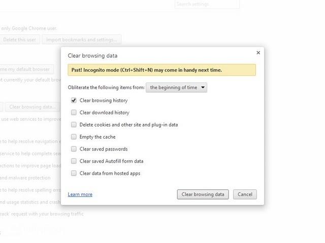 Cara Menghapus History di Google Chrome