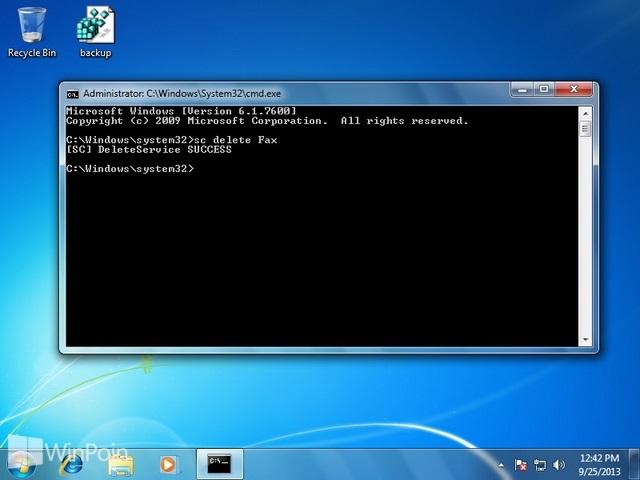 Cara Menghapus Service di Windows