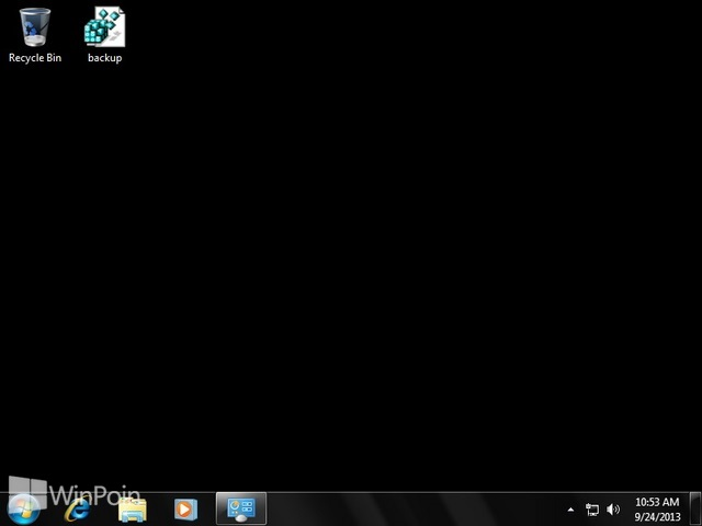 Cara Menghilangkan Background Gambar di Windows 7