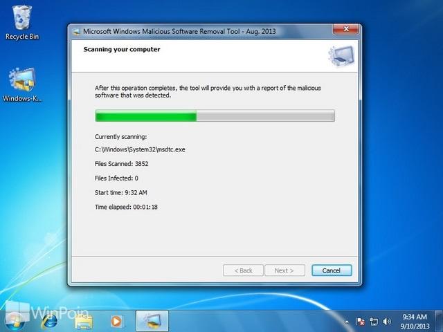 Cara Menghilangkan Malware dengan Malicious Software Removal Tool