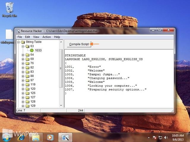 Cara Mengganti Text Logging Off Saat Shut Down Windows 7