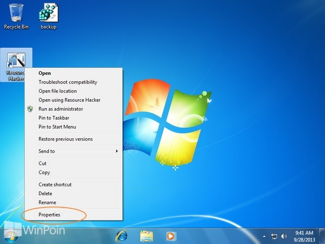 Cara Menyembunyikan Icon Pin Taskbar Windows 7