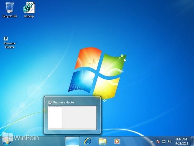 Cara Menyembunyikan Icon Pin Taskbar Windows 7