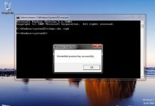 Cara Uninstall Product Key Windows