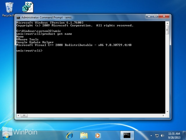 Cara Uninstall Program dengan Command Prompt Windows
