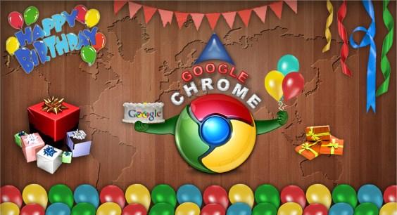Selamat Ulang Tahun Ke-5 Google Chrome!
