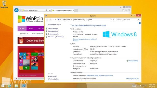 Inilah Daftar Perbandingan Fitur Setiap Versi Windows 8.1