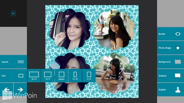 Review Aplikasi Phototastic Windows 8: Aplikasi Foto Collage Banyak Template