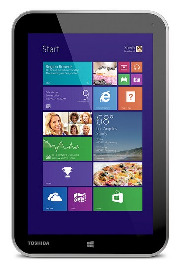 Toshiba Encore: Tablet Windows 8.1 Mini Dengan Office 2013 Built-in