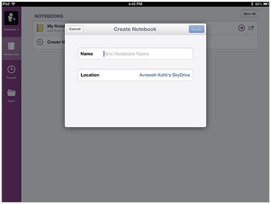 Microsoft Merilis Update Aplikasi OneNote untuk iOS