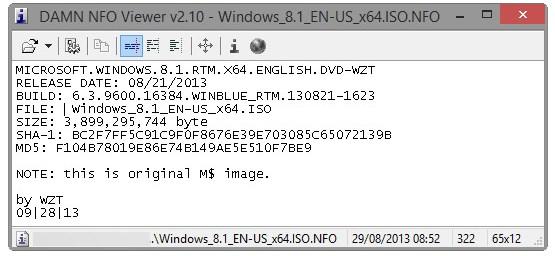 Windows 8.1 yang Bocor 2 Minggu Lalu Ternyata Sama dengan Versi Officialnya