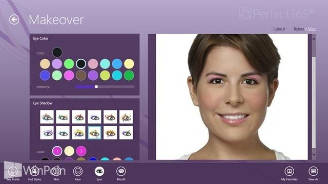 Download Aplikasi Perfect365 untuk Windows 8
