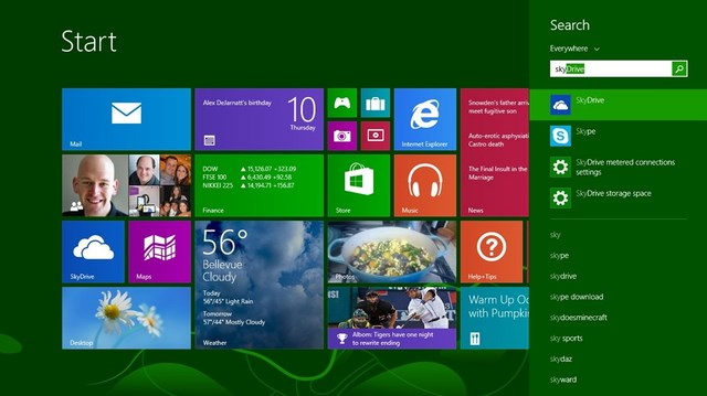 Microsoft Pamer Fitur Bing Smart Search di Windows 8.1