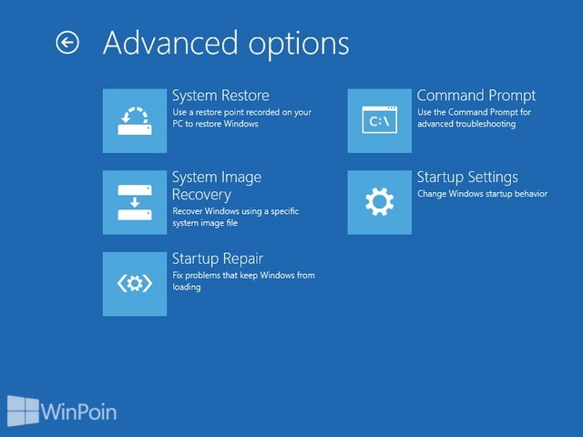 Cara Membuat Shortcut Advanced Startup Options di Windows 8 & 8.1