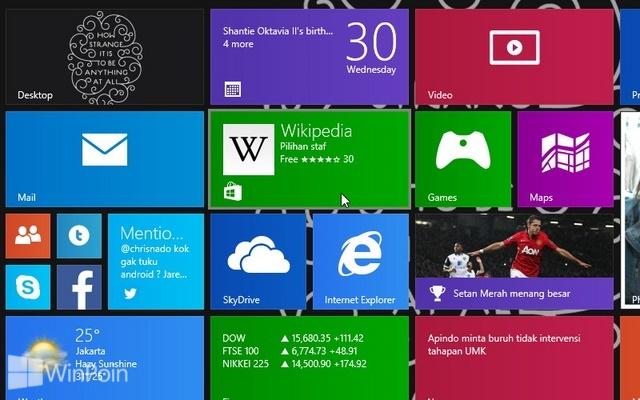 Cara Mematikan App Localization Windows Store di Windows 8.1