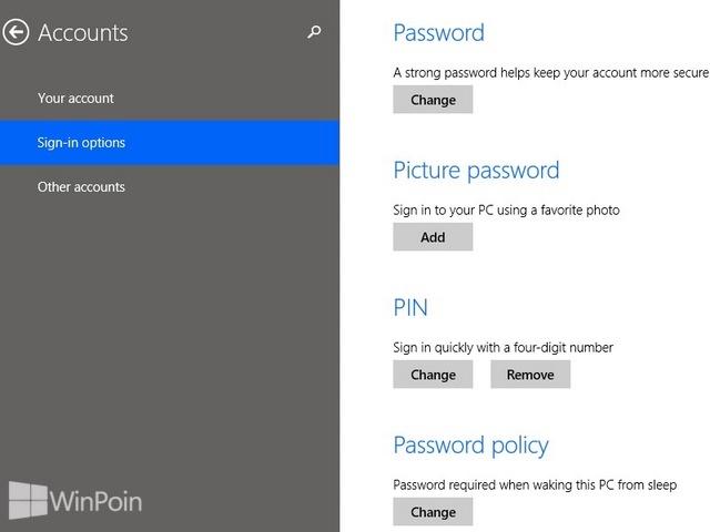 Cara Mematikan Password Gambar di Windows 8.1