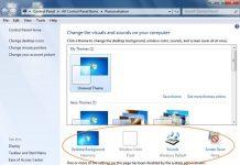 Cara Mematikan Pengaturan Window Color dan Appearance Windows 7