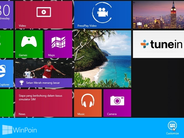 Cara Memberi Nama Group Aplikasi Modern di Start Screen Windows 8.1