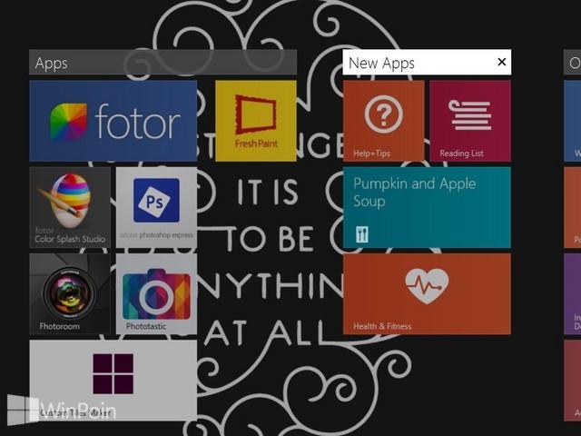 Cara Memberi Nama Group Aplikasi Modern di Start Screen Windows 8.1
