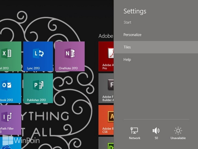Cara Menampilkan Administrative Tools di Start Screen Windows 8.1