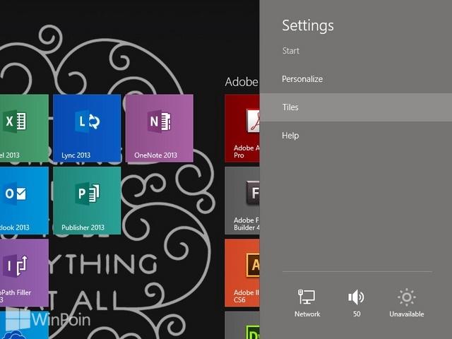 Cara Menampilkan Administrative Tools di Start Screen Windows 8.1