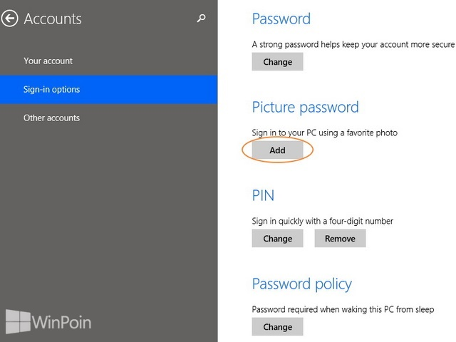 Cara Mengaktifkan Password Gambar di Windows 8.1