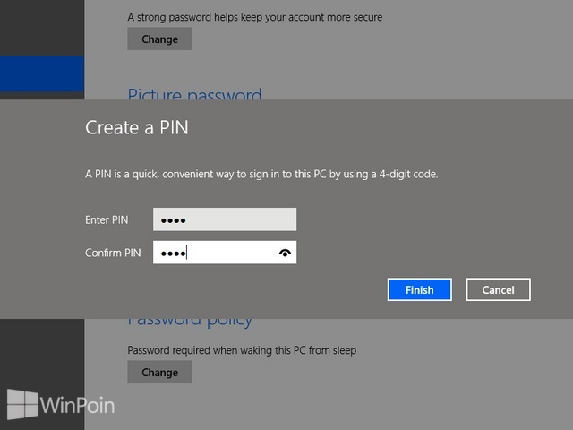 Cara Mengaktifkan dan Mematikan PIN di Windows 8.1