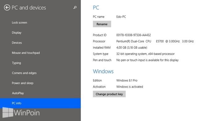 Cara Melihat Informasi System di Windows 8.1