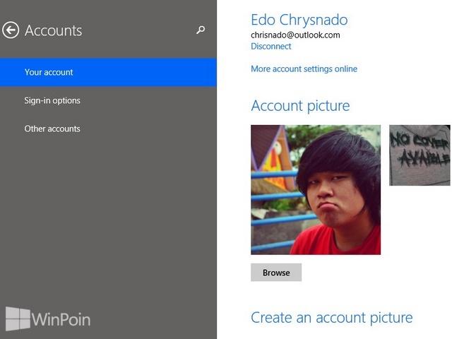Cara Mengganti Gambar Akun di Windows 8.1