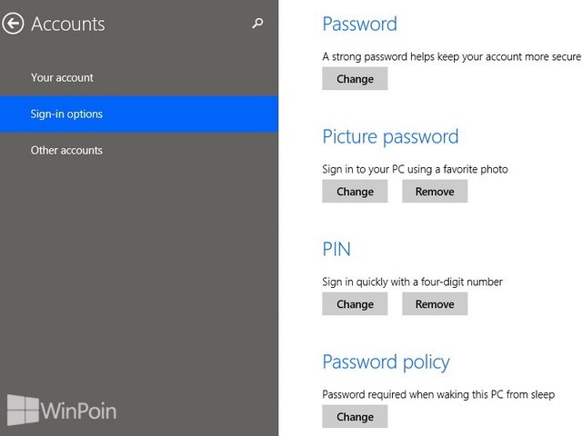 Cara Mengganti Password Gambar di Windows 8.1