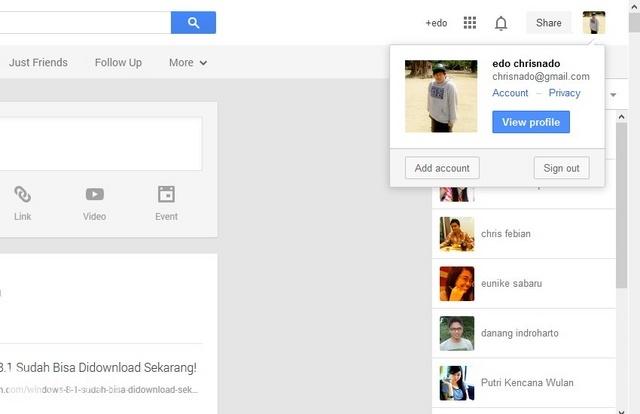 Cara Menonaktifkan Akun Google Plus