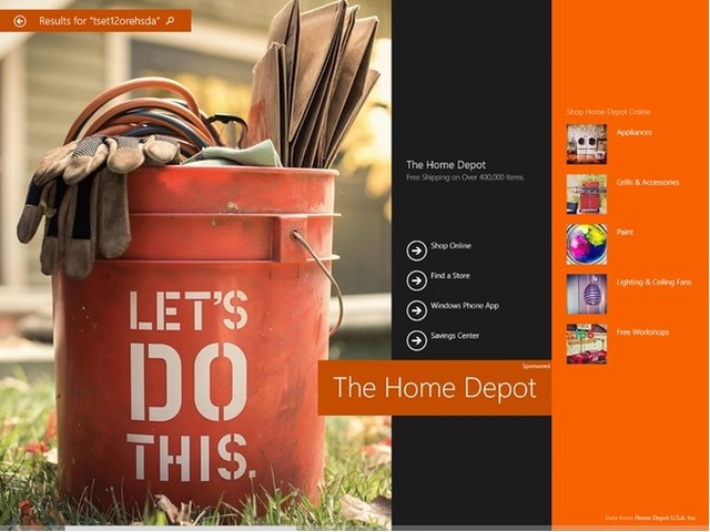 Bing Smart Search di Windows 8.1 Bakal Dilengkapi Iklan Hero Ads