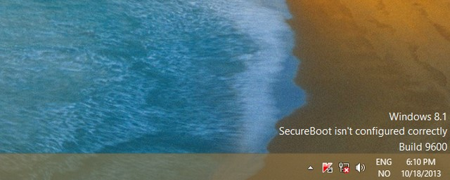 Patch Windows 8.1 Untuk Memperbaiki Bug Watermark SecureBoot Sudah Dirilis