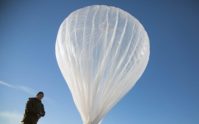Inilah Prototype Antena Balon Udara Wi-Fi Milik Google