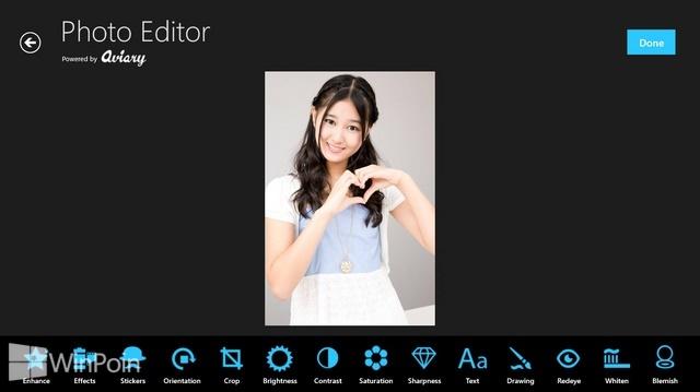 Review Aplikasi Aviary Photo Editor Windows 8: Pemutih Gigi