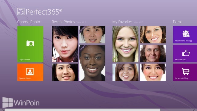 Review Aplikasi Perfect365 Windows 8: Makeup Foto Tanpa Pikir Pusing