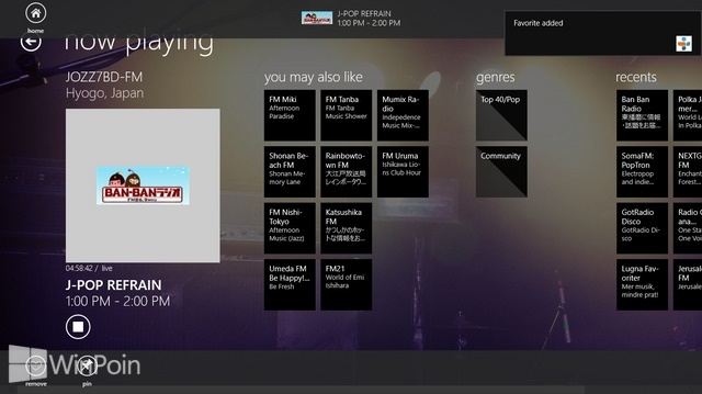 Review Aplikasi TuneIn Radio Windows 8: Radio Streaming, Kaya Stasiun