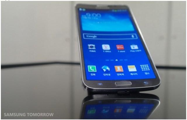 Inilah Samsung Galaxy Round: Smartphone dengan Layar Cekung Pertama di Dunia