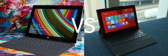 Microsoft Surface 2 vs Nokia Lumia 2520: Siapa yang Pemenangnya?