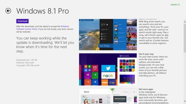 Windows 8.1 Sudah Bisa Didownload Sekarang!