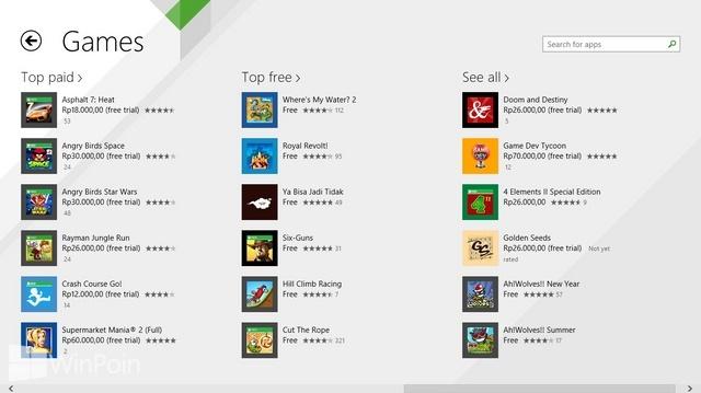 Cara Install Aplikasi Modern dari Windows Store di Windows 8.1