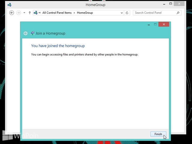 Cara Join HomeGroup di Windows 8