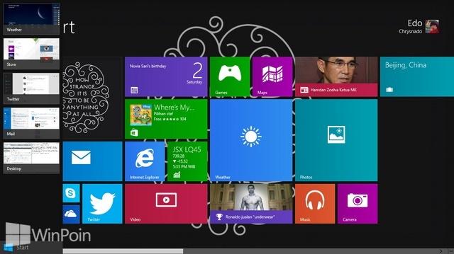 Cara Menutup Semua Aplikasi Modern yang Sedang Terbuka di Windows 8.1